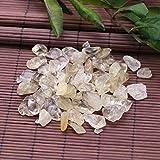 HONIC 100g Raue Citrine Steine ??Brasilien Raw Natürliche Kristalle für Reiki Healing Aquarium...