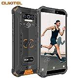 OUKITEL WP5 (2020) Outdoor Smartphone Ohne Vertrag, 4G Dual SIM IP68 wasserdichter, 8000mAh Akku...