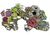 Nobby Aqua Ornaments 'KORALLE ' MIT PFLANZEN  28,0 x 12,0 x 13,5 cm