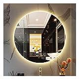 Wunderschöner Badezimmerspiegel, Smart Touch LED-Beleuchtung, Antibeschlagspiegel, rahmenloser...