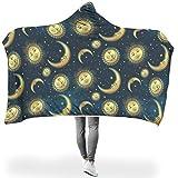 shengmengshi leicht leuchtende Farben Hoodie Wearable Super Soft Throw Blanket DASS die Menschen gut...