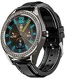 COULAX SmartWatch, GPS Uhr mit 1.3 Zoll Touch Farbdisplay, Herzfrequenz Fitness Armbanduhr, IP68...