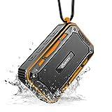 VANZEV Tragbare Bluetooth Lautsprecher Boxen mit FM Radio eingebautem Mikrofon IPX7 Wasserdicht, Top...