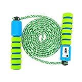 Sportplay Springseil Speed Rope mit Zähler Und Komfortablen & Anti-Rutsch Griffen für Fitness und...
