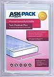 ASK Pack Premium Matratzenschutzhülle Twin für bis zu 140cm breite / 25cm hohe / 220cm Lange...