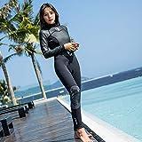 HISEA Mode Neue Neoprenanzug Surfen Damen, Taucheranzug Anzug Volle Abdeckung, Hohe Qualität,...