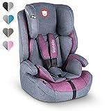Lionelo Nico Kindersitz 9-36kg Kindersitz Auto Gruppe 1 2 3 Seitenschutz 5-Punkt Sicherheitsgurt...