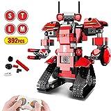 Bausteine RC Roboter, Kinder Fernbedienung STEM Roboter Toy Pädagogisches Lernen DIY Robotics Kit...