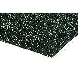 acerto 40383 Unterlegmatte für Fitnessgeräte * Unterlage 200x125cm (4mm) * grün * Robuster...