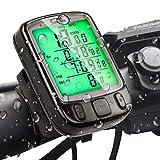 Gibot Fahrrad Tachometer Kilometerzähler Fahrradcomputer wasserdichte Hintergrundbeleuchtung...