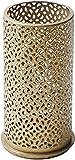 CherryKelly Metallkerzenhalter 140x75 mm für Stumpenkerzen oder LED