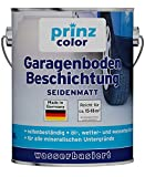 prinzcolor Premium Garagenbodenbeschichtung Bodenbeschichtung Bodenfarbe Anthrazitgrau