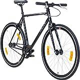 Galano 700C 28 Zoll Fixie Singlespeed Bike Blade 5 Farben zur Auswahl, Rahmengrösse:53 cm,...