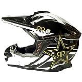 AELN Helm gemischt Farbe Profi Offroad Motorrad Helm ECE Zertifizierung - Full Face Racing Motorrad Helm mit Sonnenblende Erwachsene Männer und Frauen Mountain Downhill Motorrad Helm - M/L/XL M 3
