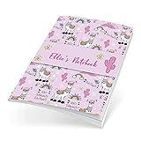 Personalisierte Notizbücher, perfekt gebunden, persönliches Geschenk Llama (Code 1015)