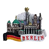 Aisoway 3D Berlin Deutschland Harz Kühlschrank Tipps Sehenswürdigkeiten Memorial Handgemachte...