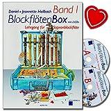 Blockflötenbox Band 1 mit 2 CDs - Sopranblockflötenlehrgang für Kinder von Daniel Hellbach -...