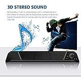 SEXTT Soundbar, Desktop-Lautsprecher Mini-Bluetooth-Lautsprecher USB Powered PC Lautsprecher mit...