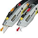 Stanley FatMax Messer 2in1 (einziehbare Klinge, in fünf Positionen fixierbar, InterLock,...