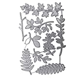TankMR Stanzschablone Baum Blatt Zweig Metall Stanzschablone Prägeschablone für DIY Scrapbook...