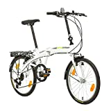 Multibrand, PROBIKE Folding 20 Klapprad Faltrad 20 Zoll, 310 mm, Folding City Bike, 6...