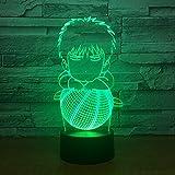 3D Nachtlicht Atmosphäre Licht Bunt Energiesparende Led Optische Beleuchtung Tischlampe...