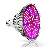 deaunbr Pflanzenlampe LED 100W Pflanzenlicht Grow Lampe E27 Wachstumslampe Vollspektrum für...