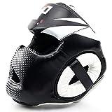 Chengzuoqing Kopfschutz Boxen Geschlossener Typ Boxhelm Kopf Thai Kick Brace Kopfschutz Guard...