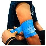 Flossband, einzeln, Standardbreite 5cm, in 4 verschiedene Stärken - Level 2 - blaubeere - mittel -...
