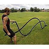 Battle Rope,Kampfseil Training Seil,Sport Seil ,Gym und Muskelaufbau Funktionellen Swinging...