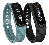 SportPlus Q-Band EX / Q-Band HR mit Herzfrequenzsensor, Smartwatch, Aktivitäts-/Schlaftracker, OLED...