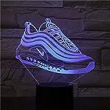 Farbe Pantoffeln Schuh Lichter Nachtlichter Batterie Nachtlichter Visuelle Effekte Geschenke für Jugendliche