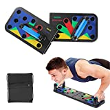 Kampre 9 in 1 Klappsystem Push-up Bracket Board Tragbares Fitness-Workout-Fitnessstudio...