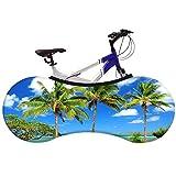 JTYX BIKE COVERS Universelle Fahrradabdeckung Coconut Island Fahrrad Indoor Storage Cover Beste...