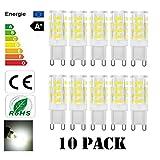 Lacmisc G9 LED Lampen 5W 400LM warmweiß Umweltfreundliche Lampe Ersatz für 40W Halogenlampen...