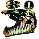 IAMZHL Offroad Helme Downhill Racing Mountain Integralhelm Motorrad Moto Cross Casco Casque...