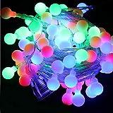 LED String Fairy Light Schneeflocke Weihnachtsbaum Weihnachtsfeier Wohnkultur (buntes Licht)...
