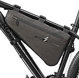 YAOGZ Fahrrad Handy Lenkertasche, wasserdicht Großen Fahrrad-Dreieck-Schlauch-Beutel-Quick Release...