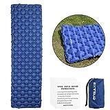 EXTSUD Ultraleichte Aufblasbare Isomatte|selbstaufblasbare Isomatte|Camping Matratze Schlafmatte...