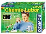 KOSMOS C2000 - Chemielabor, Laborausstattung mit Brenner, 260 Experimente und Einführung in die...