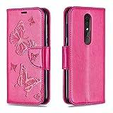 EUDTH Nokia 4.2 Hülle,Handytaschen PU Leder Tasche Flip Case Brieftasche Handyhülle für Nokia 4.2...
