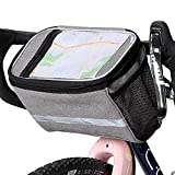 Xian Ju Fahrrad Lenkertasche, Wasserdicht Fahrradtasche Handy Rahmentasche Gepäckträger Tasche mit...