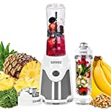 Duronic BL505 Mini Standmixer/Smoothie Maker/Mini Mixer/Mix & Go/Sportmixer, 500 Watt, inkl. 2 x 600...