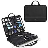 bagsmart Elektronik Zubehör Organizer Tasche Laptoptasche mit Tabletfach für 15 Zoll MacBook, 13,3...
