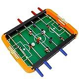 Taidda Spiel Fußballtisch, tragbares Spiel Tischfußball Bälle Mini Tischfußball Tisch Kompaktes...