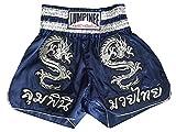 Lumpinee Muay Thai Boxhose, Dunkelblau, Größe L