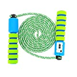 Sinwind Springseil Kinder, Springseil mit Zähler & Komfortablen Griffen Speed Rope Skipping Rope...