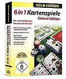 Kartenspiele Box Gold Edition - Skat, Poker, Doppelkopf, Schafkopf, Rommé, Canasta