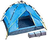 Semptec Urban Survival Technology Trekkingzelt: Automatik-Kuppelzelt für 3-4 Personen, 3.000/5.000 mm Wassersäule (Automatik Zelt 4 Personen)