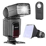 Neewer TT560 Speedlite Blitz Kit für Canon Nikon Sony Pentax DSLR Kamera mit Standard-Blitzschuh,...